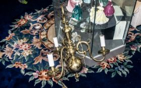 A Heavy Brass Reproduction Dutch Style T