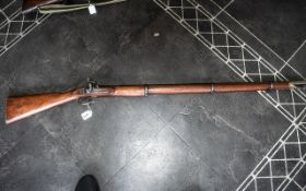 An Enfield 1859 Pattern Smooth Bore rifl