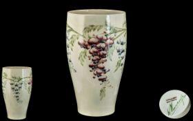 William Moorcroft Signed Vase Made For L