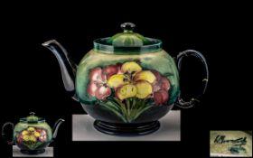 Moorcroft Teapot, Has Had Some Restorati