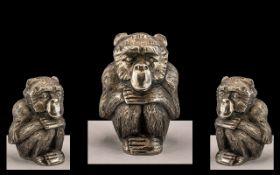 Chinese Silver Monkey.
