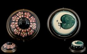 Moorcroft - Pair of Modern Paperweights, Various Design - Please Confirm with Photo.