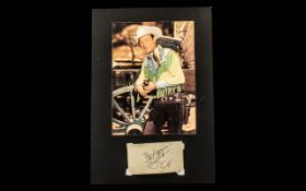 Roy Rogers Signed Print Autograph. Please See Photo.
