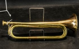 """Brass Bugle 15"""" length, see images."""