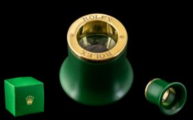 Rolex Jeweller's Loupe, watch - accessories, signed Rolex. Mint condition, with Rolex box.