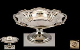 Gorham of New York Superb Sterling Silver Fruit Bowl. Excellent Design and Form.