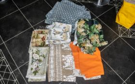 Large Collection of Sanderson Fabric, good quality fabric in assorted designs and colours,