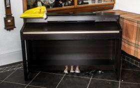 Yamaha Electric Clavinova Piano, measure