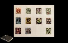 Large Spring Back Stamp Tower Album of G