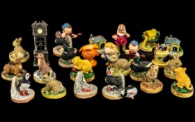 Collection of Vintage Figures In ' Jules