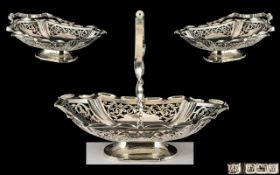 Edwardian Period Ornate Sterling Silver
