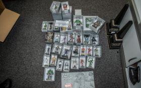Large Collection of Marvel Eaglemoss Fig