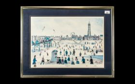 Blackpool Interest - Signed Print by Ala