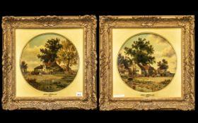 John Holland - Dated 1875 - A Pair of Fi