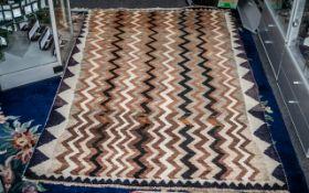 Iranian Tribal Carpet with an interlacin