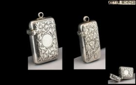 Victorian Period - Pleasing Sterling Sil