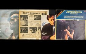 Pop Music Autographs on Records Sleeves