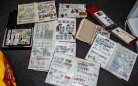 Stamps Interest mainly modern penguins Commonwealth mint + used collection from 1960's to 2002 in 5