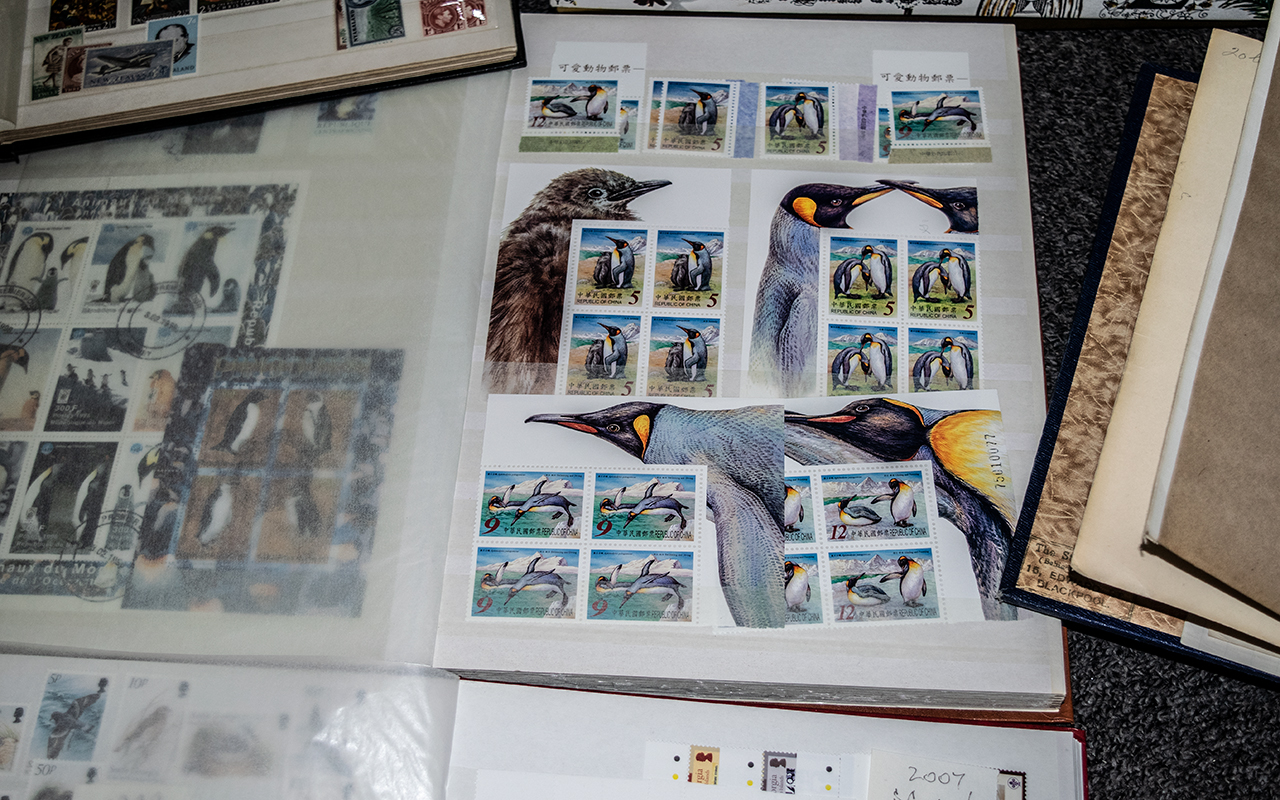 Stamps Interest mainly modern penguins Commonwealth mint + used collection from 1960's to 2002 in 5 - Image 5 of 7