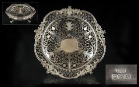 Edwardian Period - Magnificent Superior and Quality Open worked Ornate Bowl,