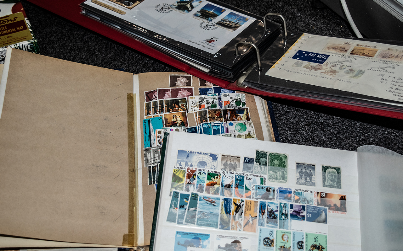 Stamps Interest mainly modern penguins Commonwealth mint + used collection from 1960's to 2002 in 5 - Image 4 of 7