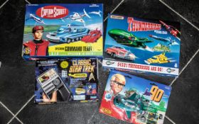 Star Trek/Thunderbirds/Captain Scarlet & Joe 90 - Collection of Boxed Unused Toys, comprising: