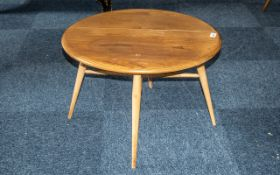 A Golden Dawn Ercol Drop Leaf Coffee Table. 60 Inches High, 40 Inches Wide & 60 Inches Deep.