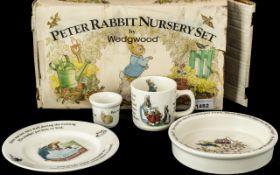 Peter Rabbit Nursery Set by Wedgwood ( B
