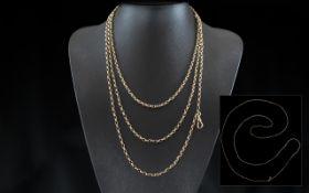 Antique Period - Stunning 9ct Gold Muff