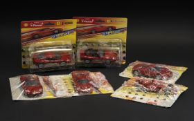 Collection of Six V. Power Model Cars, F