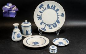 Collection of Wedgwood Pale Blue and Whi
