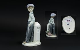 Lladro Hand Painted Porcelain Figure 'Th