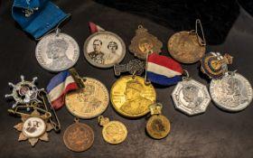 ( 14 ) Various Coronation Medals, Preston Guild 1911, Coronation Medal,