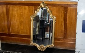 Rococo Style Wall Mirror of Large Size, a lovely and striking,