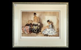 Russell Flint Limited Edition Print 'The Dress Fitting', No. 352/850.