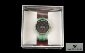 Fossil - Model DW9FI Ultra Lightweight Touchscreen Sports Smart Watch, Key Features - Tracks Your