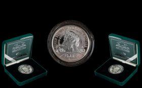 Royal Mint Silver Piedfort Centenary Crown