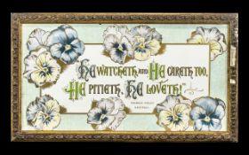 Frances Ripley Havergal Rare and Historical Original Artwork, born in 1836,