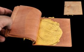 Book of Gold Leaf, warranted English book of gold leaf, approx.