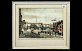 Original Deryk Bailey Watercolour, art work by renowned artist Deryk Bailey,