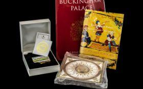 Buckingham Palace Interest - A Limited Edition Enamel Box,