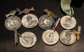 Selection of Queen Victoria and Albert Medallions and Awards and Jubilee Medals.