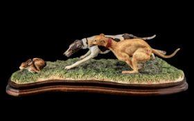 Border Fine Arts Figure 'Waterloo Chase'