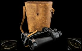 Pair of WW2 Military Binoculars, Serial