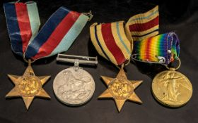 Collection of WWl and WWll Medals, four