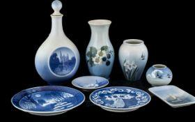 Collection Of Royal Copenhagen Porcelain