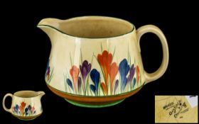 Clarice Cliff - Large Hand Painted Jug '