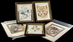 Collection of Original Watercolour Paint