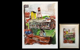 Bob Dylan Limited Edition Signed Giclee