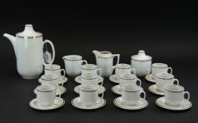 Contemporary German Coffee Set by Scherz